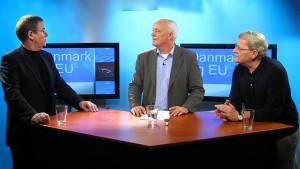 Poul Nyrup Rasmussen i Dialog udsendelsen optaget i tv-studiet i Mediehuset København