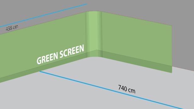 Leje Af Green Screen Studie