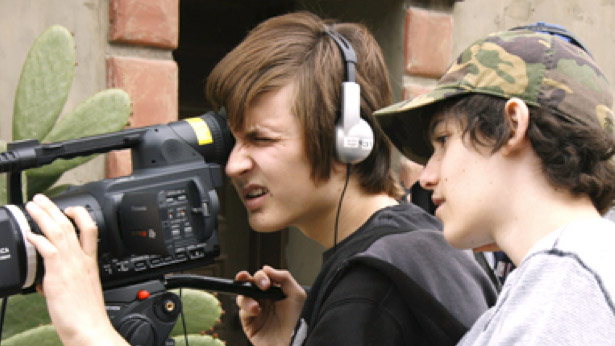 unge paa videokursus i mediehuset 2