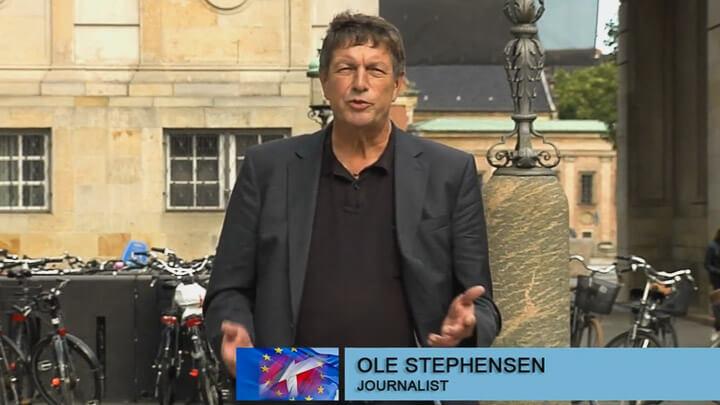 Ole Stephensen møder kendte danske Europa politikere