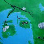 Retsforbeholdet Graffiti billede af Rune Laursen