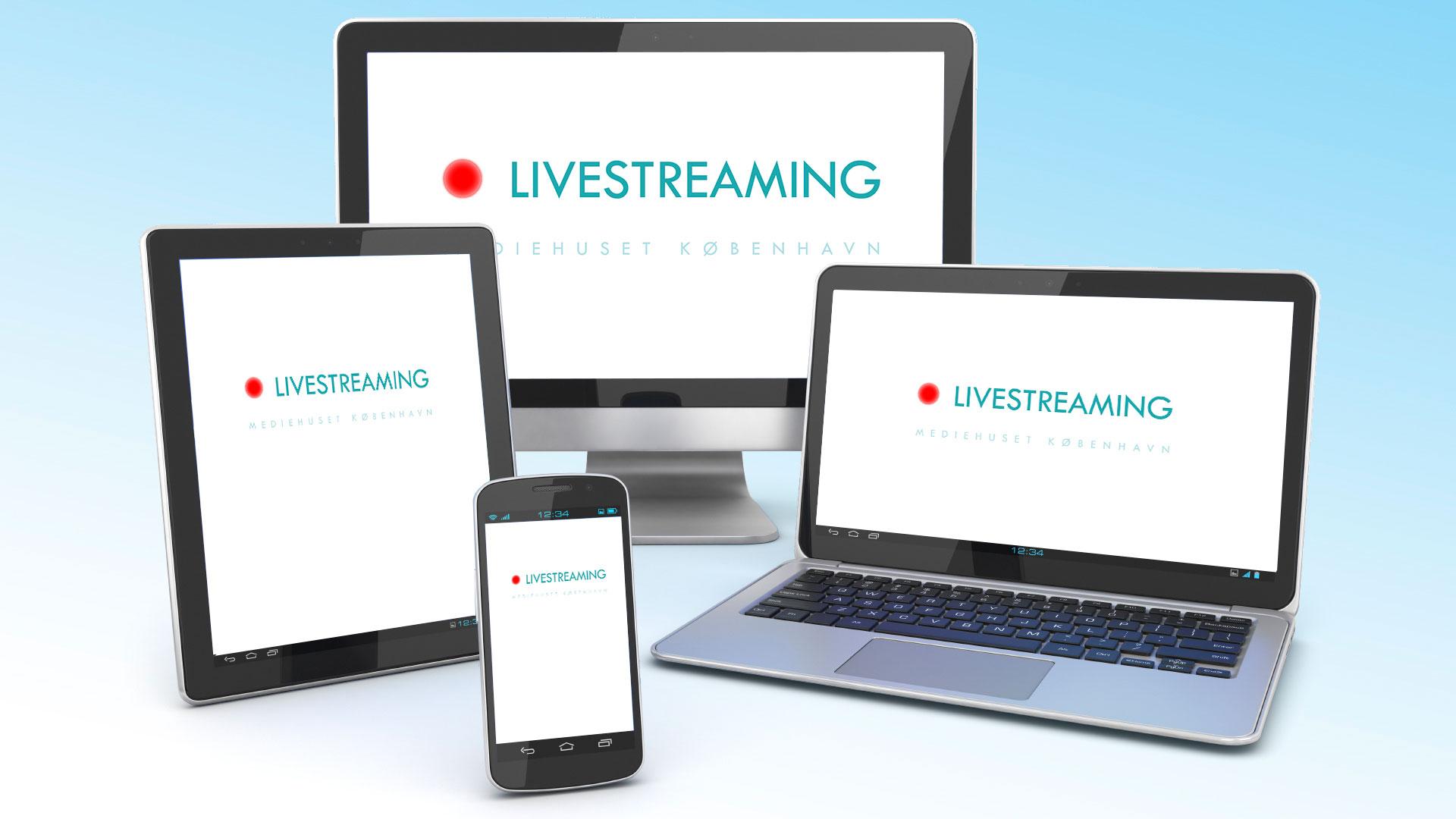 Livestreaming service fra Mediehuset København Live Streaming