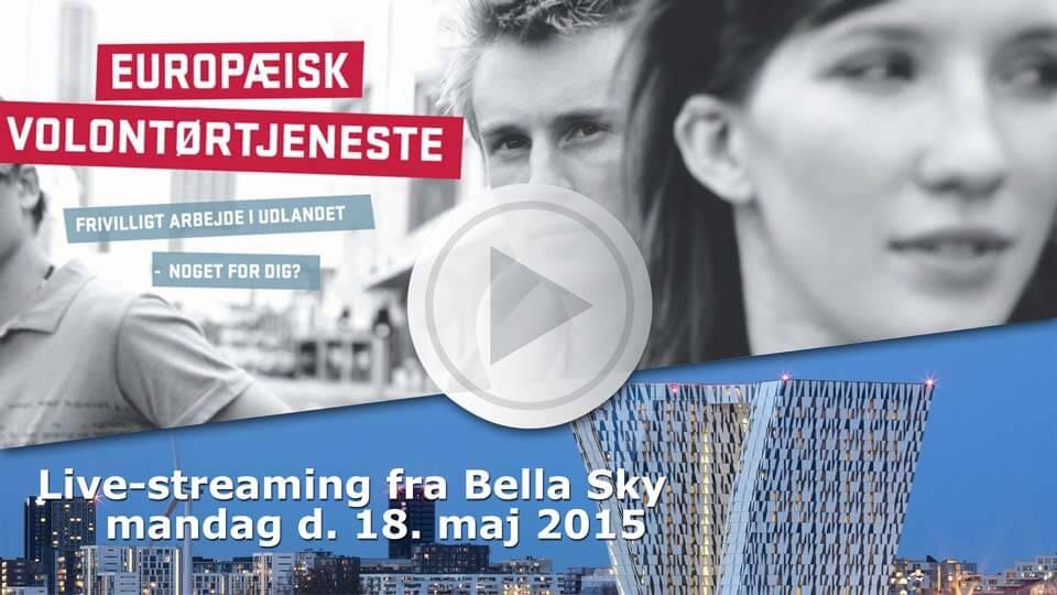 evs bella sky erasmus plus frivilling live streaming