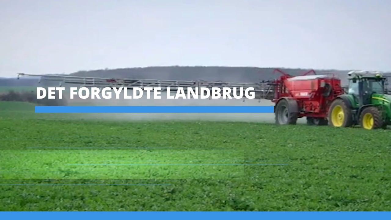På kant med EU (3) - Det forgyldte landbrug