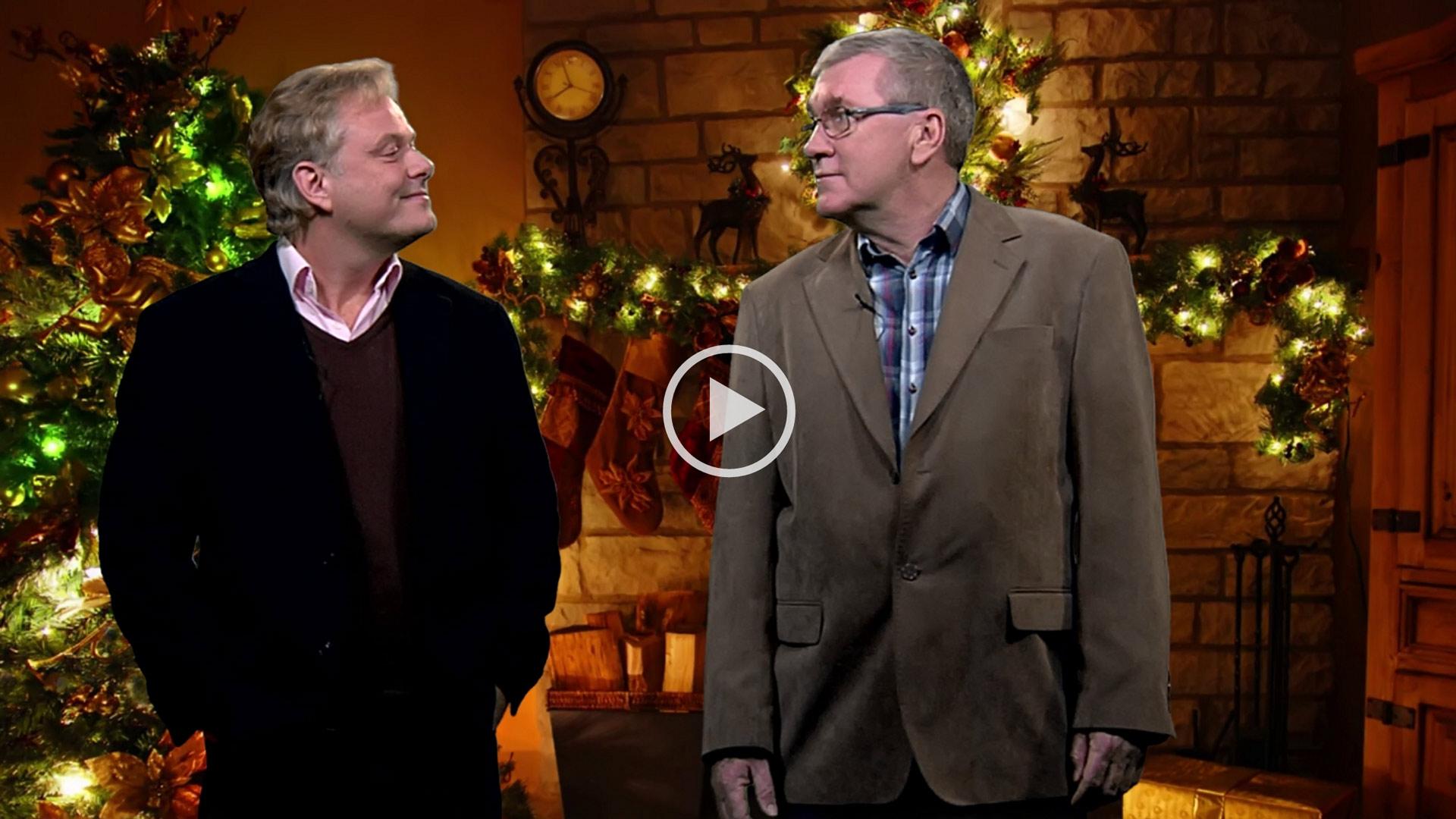 Jimmy og Claus' Julehilsen til dig fra Mediehuset København