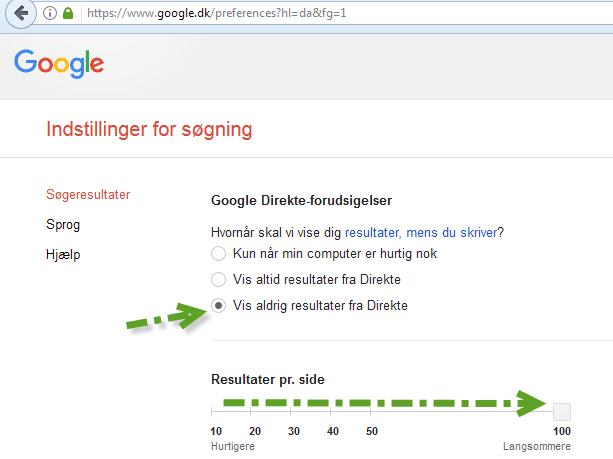 Google-instillinger-for-soegeresultater-613x459