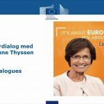 live stream europa kommissionen borgerdialog thyssen 13