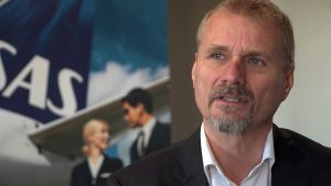 Flyforurening Lars Wigelstorp Andersen Public affairs direktør i SAS