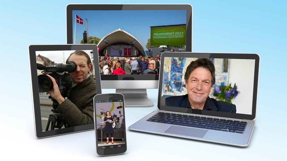Mediehuset København producerer sammen med Ole Stephensen på Folkemødet 2017