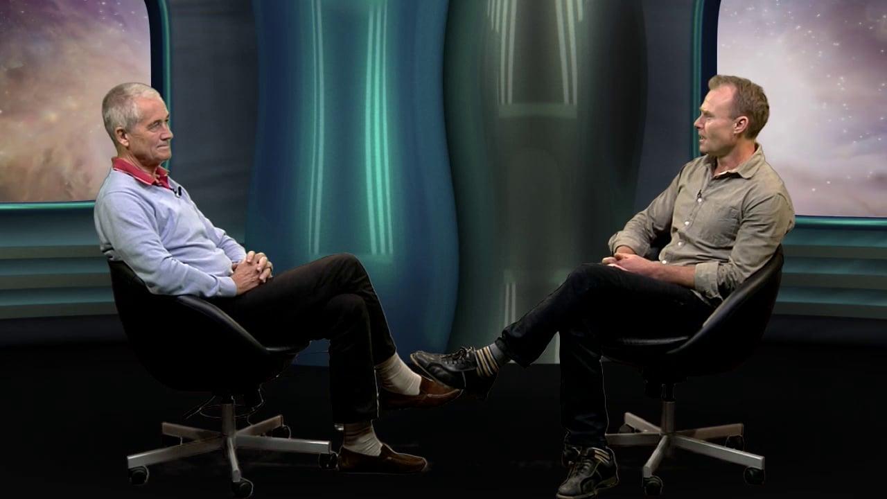 Martin Spang Olsen i TV fra en anden planet (episode13) optaget i greenscreen Peter Gøtzsche, Medicinalindustrien