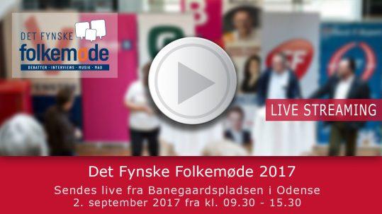 Livestreaming fra Det Fynske Folkemøde 2017