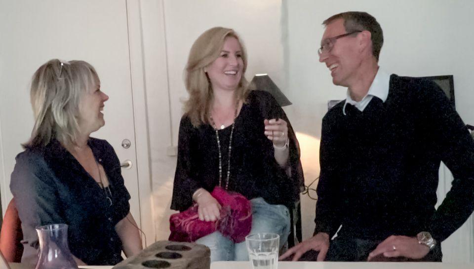 Lene Hansson, Christina Hedegaard Jørgensen og Peter Mikkelsen fra Sund Livsstil Messe