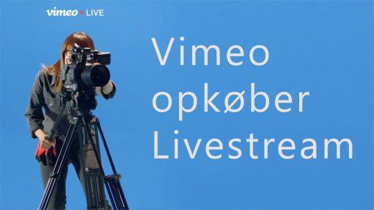 Vimeo opkøber Livestream