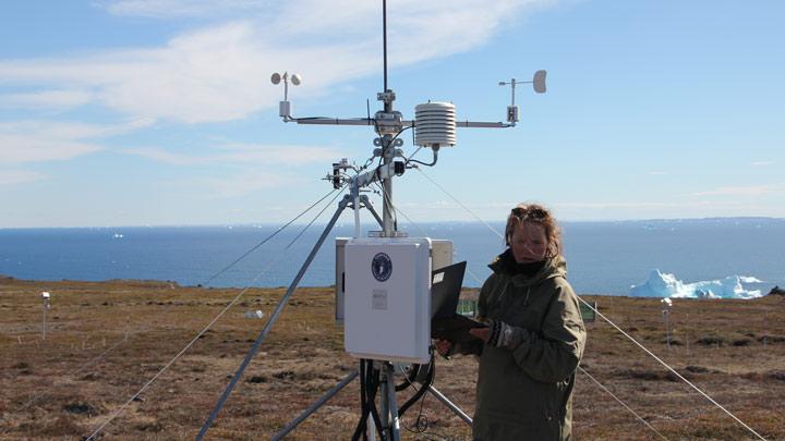 vejrstation på grønland