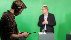 Green Screen Studie med host og teko