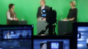 Green Screen Studie med vært og gæster