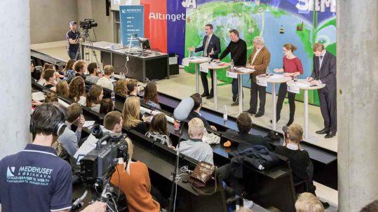 Professionel Livestreaming af event - Mediehuset København