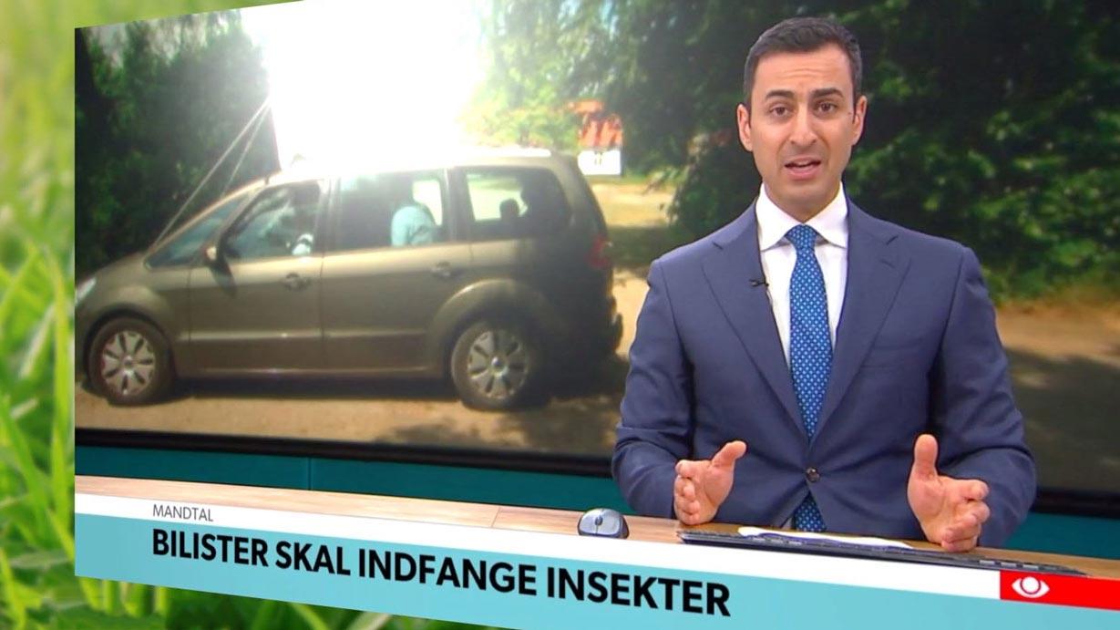 TV avisen indslag om Insektmobilen