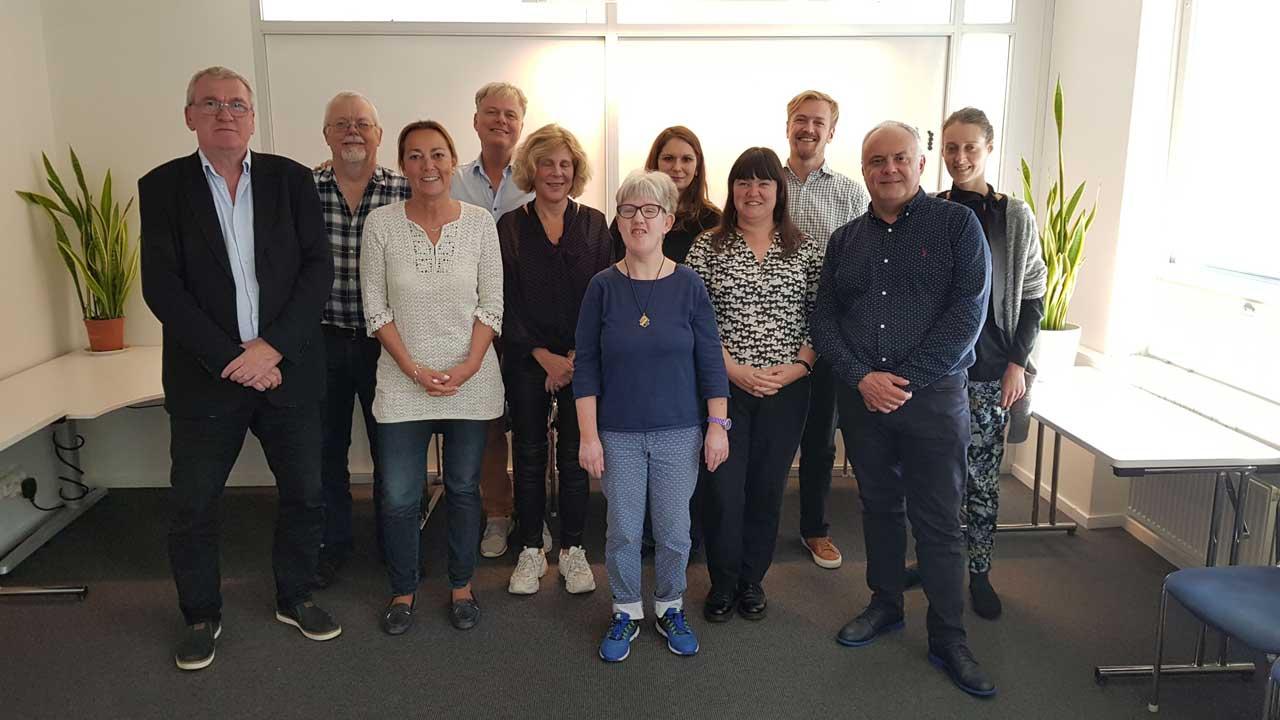 Mediehuset København til partnermøde hos Funka Sverige
