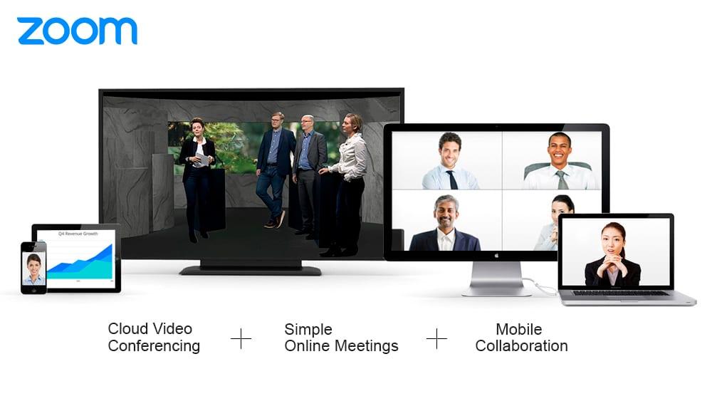 Zoom til virtuelle konferencer og og hybridmøder