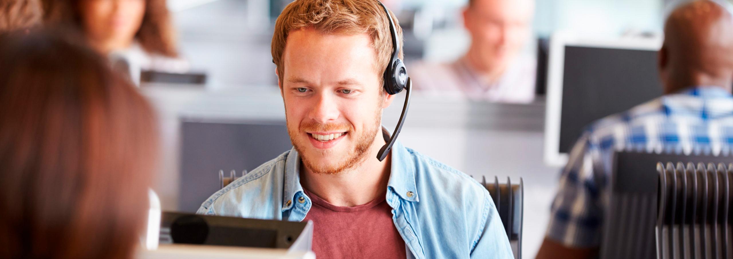 call center billede