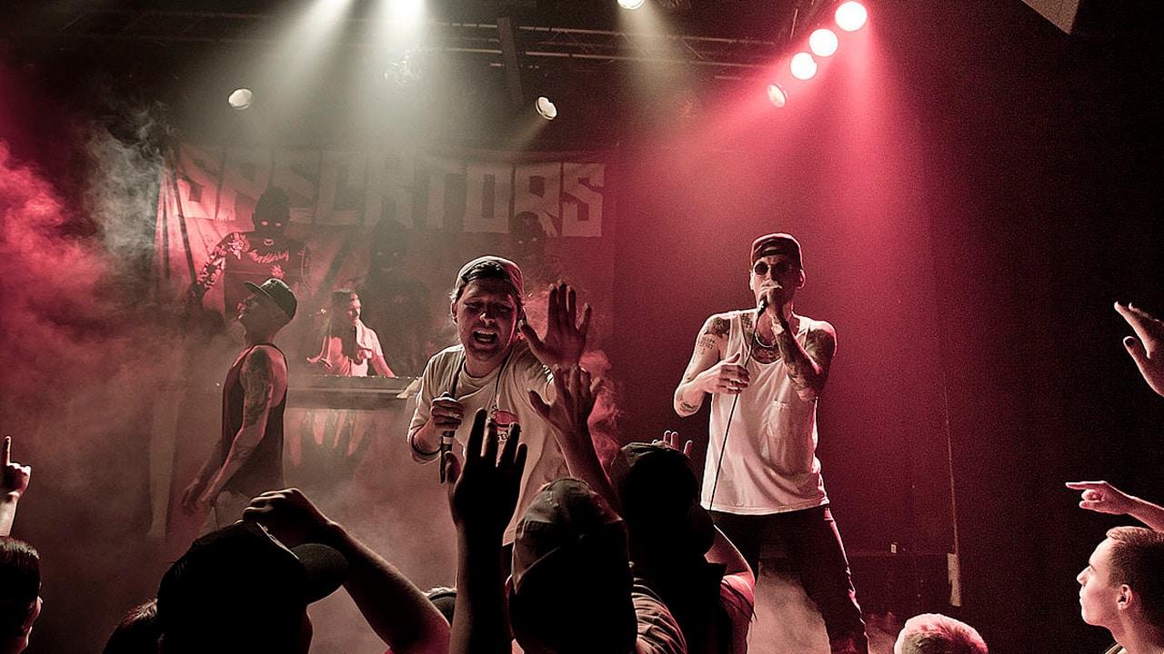Det danske hip-hop band Specktors i live