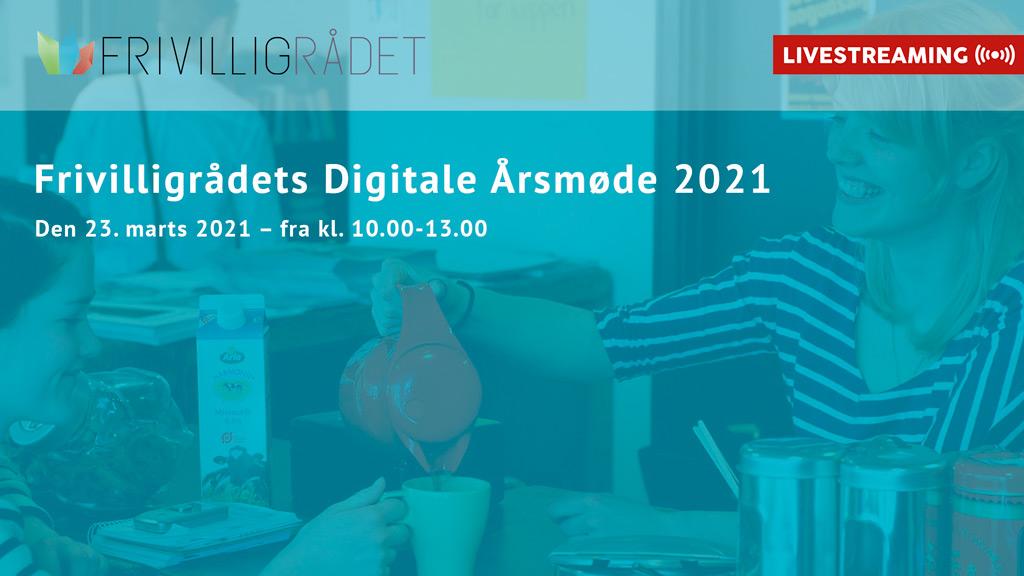 Frivilligrådets Digitale Årsmøde 2021